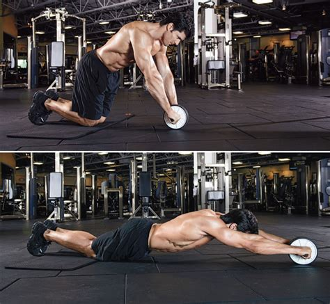 2 supersets for six pack abs fitness