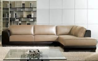 Modern Contemporary Leather Sofas Modern Leather Sofas Ideas And Inspiration Plushemisphere