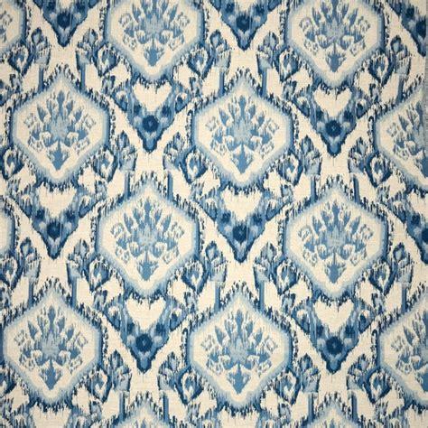 Delmora Blue turhal bluestone caribbean turquoise blue ikat