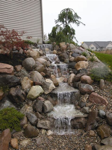 backyard waterfall kits 17 best ideas about backyard hill landscaping on pinterest