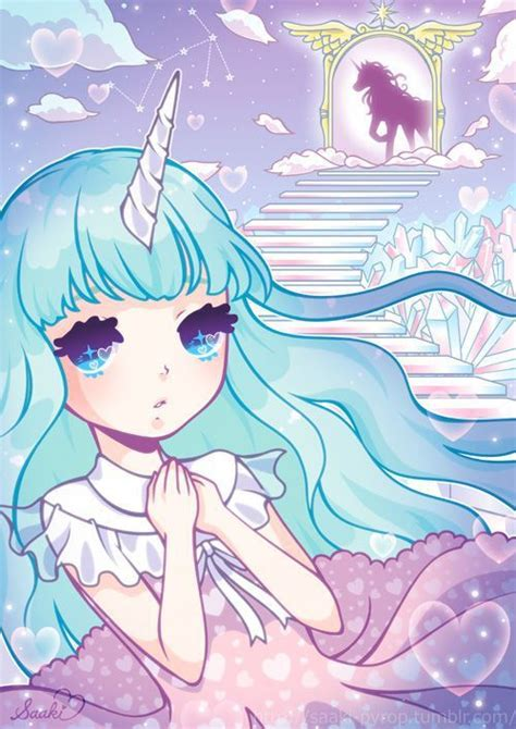 Anime Unicorn by Pastel Unicorn And Anime Image Pictures