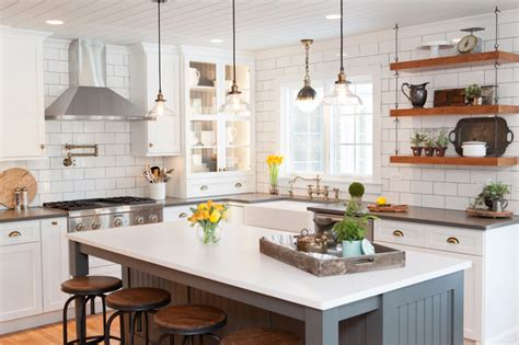 Kitchen House Ltd Sophisticated Nostalgia Kitchen In Deer Park Farmhouse