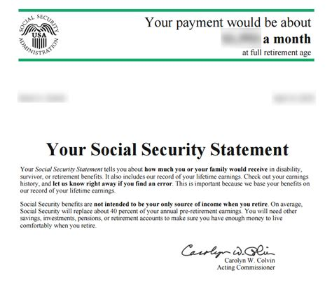 how do i get my social security statement social