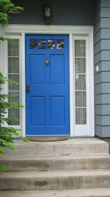 blue house white trim front door blue door grey house white trim house pinterest