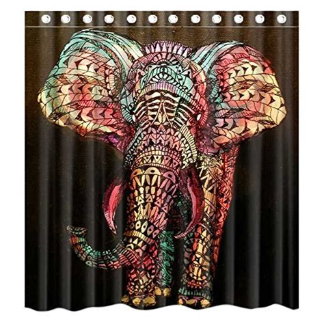 elephant shower curtain 13 elephant shower curtains you ll never forget offbeat home
