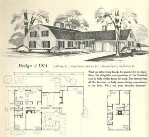 gambrel roof house plans vintage home plans gambrel 1914 antique alter ego
