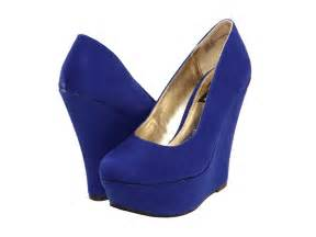 blue wedge heels qu heel