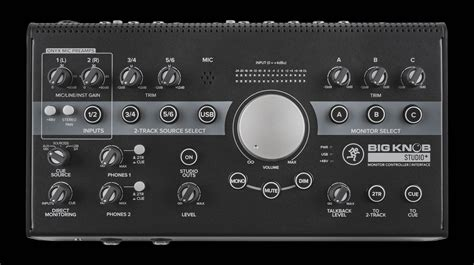 Big Knob Audio by Contr 244 Leurs De Monitoring Et Interfaces Audio Usb Mackie