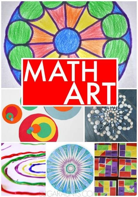 printable math art projects math art activities for 3rd graders fall art activities