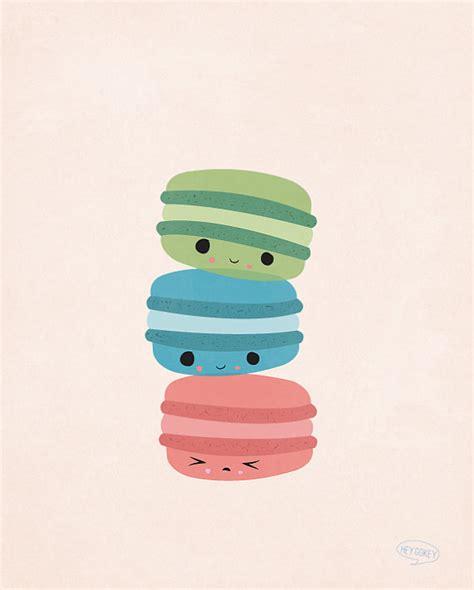 cute macaron pattern le bun l amour macarons super cute kawaii