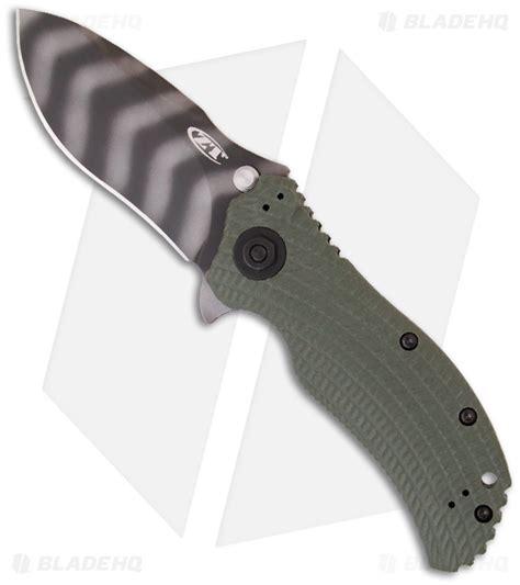 zero tolerance 0301 zero tolerance 0301 assisted opening knife ranger green 3