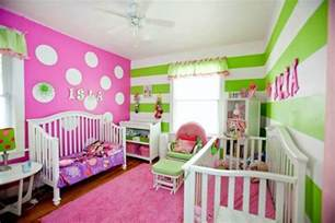 Curtains Pink And Green Ideas Pink And Green Room Stripes And Polka Dots It Is A Polka