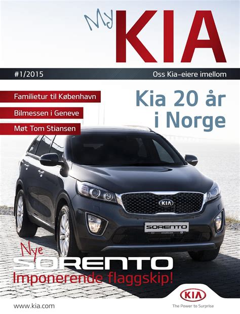 My Kia by My Kia 1 2015 By Kia Bil Norge As Issuu