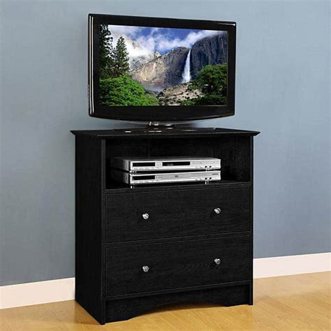 Bedroom Media Centers Montego Black Wood Bedroom Entertainment Center Free