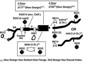 chevrolet blazer s10 t10 exhaust diagram from best value auto parts