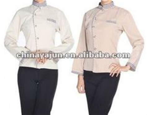 Supplier Baju Zizi Top Hq 1 hotel uniforms for waiters uniforms
