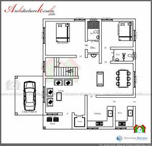 3 Bedroom House Kerala Plans Low Cost 3 Bedroom Kerala House Plan With Elevation Free