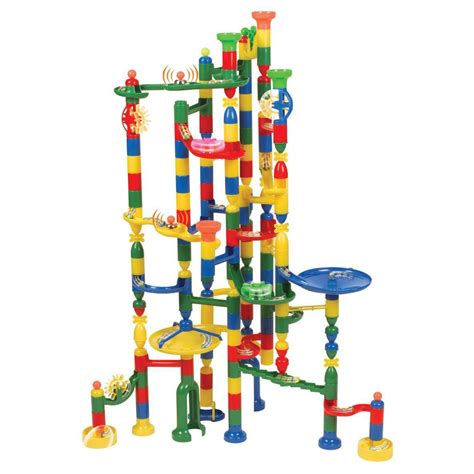 Set Origina Kid marbulous childrens marble race run 220pce construction track set ebay