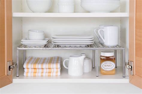 Seville Expandable Kitchen Shelf by Seville Classics Expandable Kitchen Counter And Cabinet