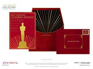 this ultra luxe oscar invite is the way to get your viewing started it matches