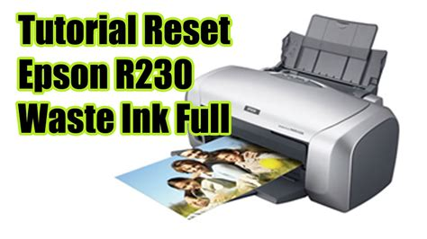 Printer Epson R230 Terbaru cara mereset printer epson r230 terbaru