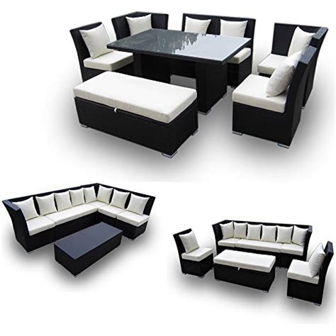 dining sectional jamaican 7 piece outdoor patio sectional dining and sofa