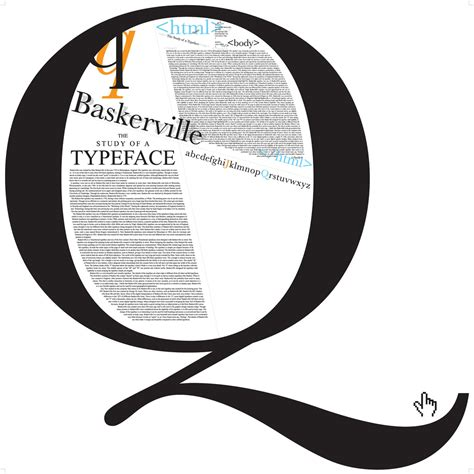 typography information the baskerville typeface effect pros write