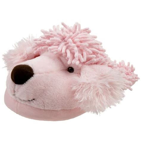 poodle slippers adults poodles animals and friends on