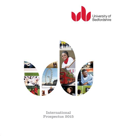 Of Bedfordshire Mba Entry Requirements by International Prospectus 2015 By Of