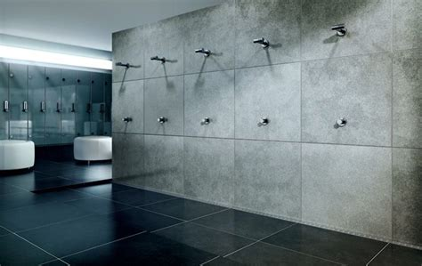 exclusive changing room shower   costumized modular linear drain system unidrain modul