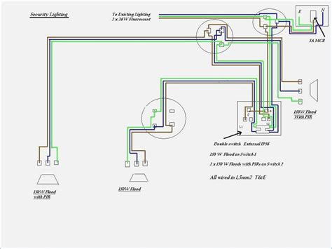 security light wiring diagram simple led security light wiring diagram how to wire pir