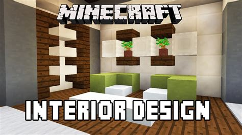 Minecraft Tutorial: Bathroom And Furniture Design Ideas