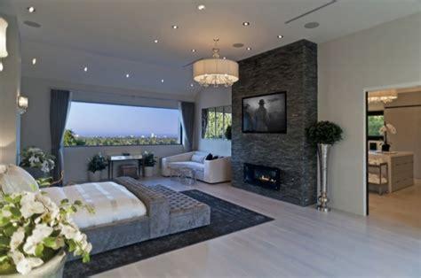 contemporary  modern bedroom designs  tv