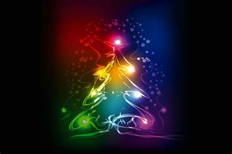 wallpaper neon xmas colors christmas tree christmas
