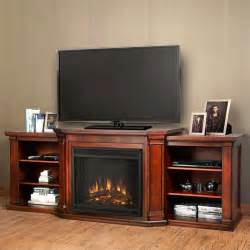 Entertainment Center With Electric Fireplace Real Valmont Entertainment Center Electric Fireplace Mahogany 7930e Dm