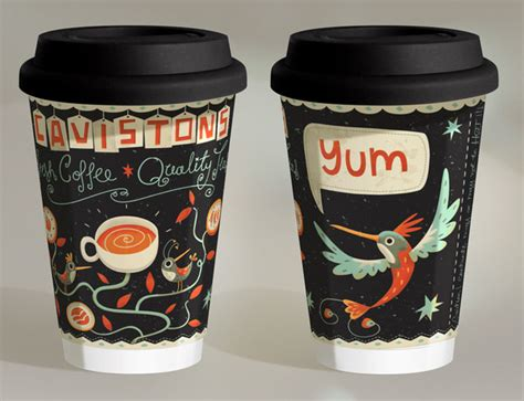 cup design 20 creative coffee cup designs you need to see hongkiat