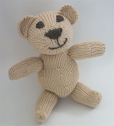 teddy knitting patterns free teddy knitting pattern