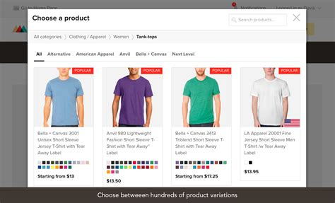 design your dress application printful woocommerce