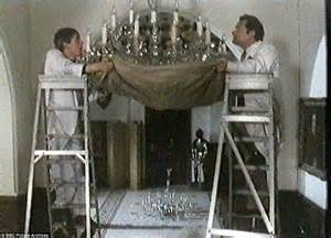 Only Fools And Horses Chandelier Episode A Touch Of Glass Chandelier Cleaners Channel Their Inner Boy As They Cleaned Three Ton