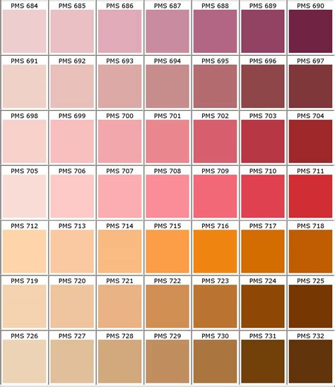 pantone colors to paint pantone 174 matching system color chart pms colors used for