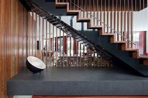 Escalier Maison Contemporaine by Maison Contemporaine Bois B 233 Ton Par Bg Architecture