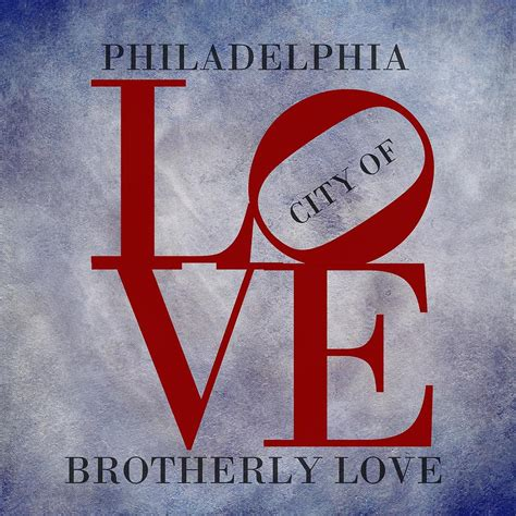 Brotherly From The City Of Brotherly 2 by Philadelphia City Of Brotherly Digital By