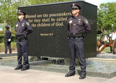 Officer Memorial by Peace Officer Memorial Part Ii Prairie