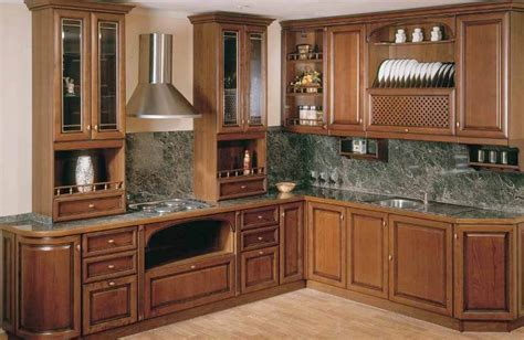 Design Of Kitchen Cabinets Pictures Corner Kitchen Cabinet Designs An Interior Design