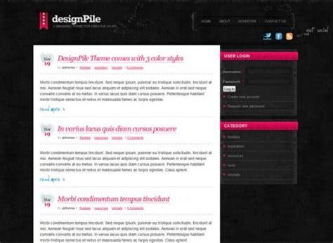 drupal themes genesis 100 best free drupal themes creativefan