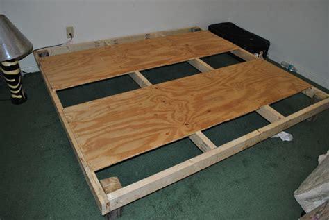 diy bed frame      steps