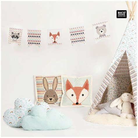 rico design embroidery kits embroidery kit rico design cushion rabbit