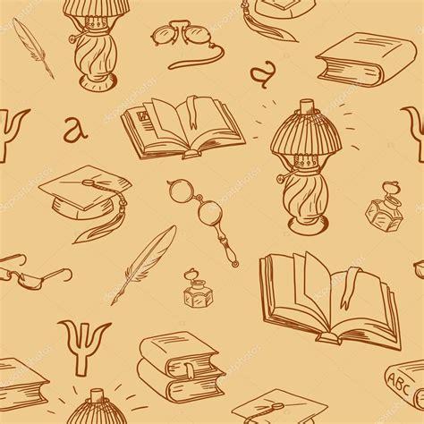 imagenes de libros sin fondo libros biblioteca de patrones sin fisuras lectura de