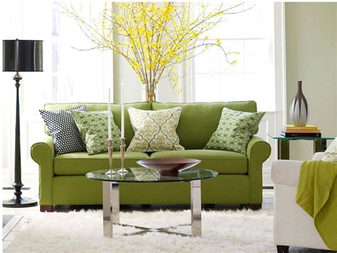 decorating ideas for a green living room room decorating