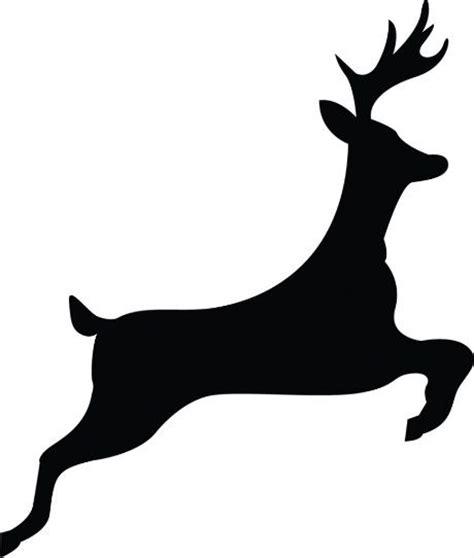 Best Photos Of Easy Reindeer Silhouette Template Christmas Reindeer Silhouette Free Printables Reindeer Silhouette Template